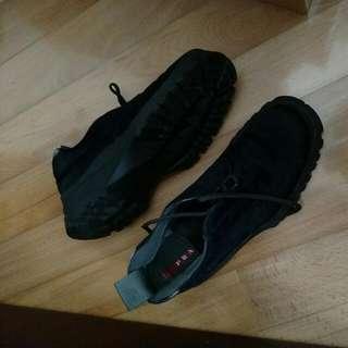 Prada 馬皮Work Boot