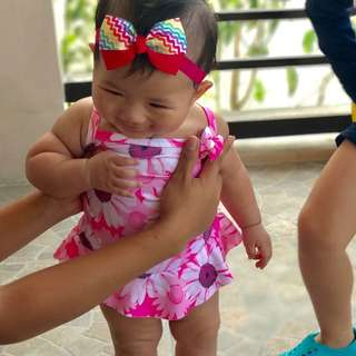 Onepiece Swimsuit For Kids 1 To 2 Yrs. Old