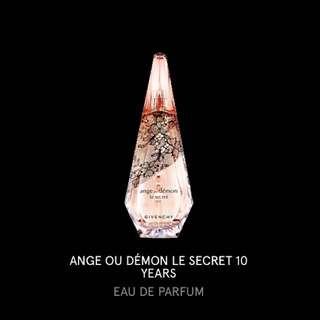 紀梵希 10年紀念 香水 Ange ou Démon Le Secret 10th Anniversary Limited Edition