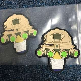 BNIP Anime Seal Team Tactical Velcro PVC Badge