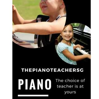 Children and Adult Private Piano Lessons
