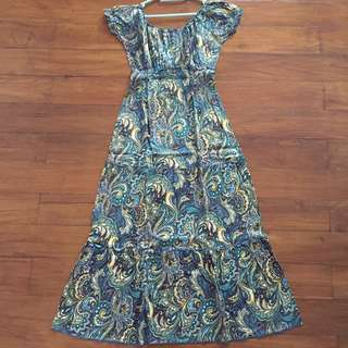 Dress Wanita Tanpa Lengan