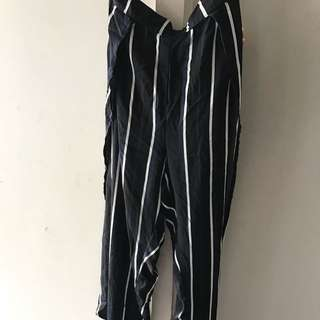 Striped Trouser Pants
