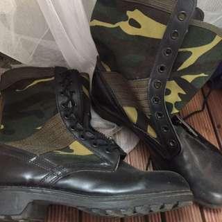 陸軍 國軍 軍靴 3號 約8.5-9