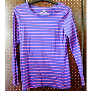 Blue and Pink Longsleeves