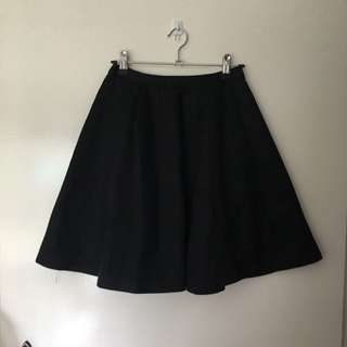 Black A-Like Skirt Alannah Hill