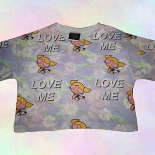 Love Me Powerpuff Girl Shirt