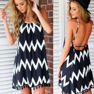 Summer Beach Mini Dress