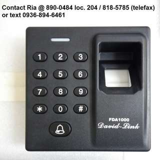 Fingerprint RFID Password Door lock access FDA-1000