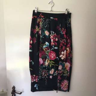 Alannah Hill Floral Pencil Skirt