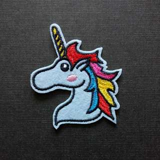 Cute Unicorn Iron On Patch