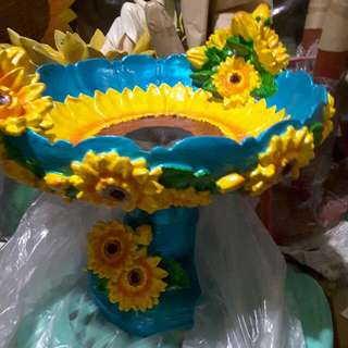 Sunflower Fruit Tray