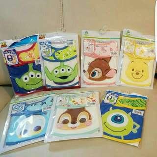 🈹日本直送🛫各款Disney  雙面口水巾 $48