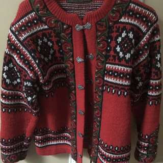 Norwegian Wool Cardi
