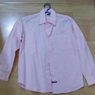 Joey Fresco Pink Long Sleeves Polo For Teens
