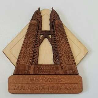 馬來西亞 雙子塔磁石