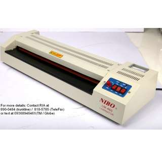 "Hot laminating machine 18"" - up tp A3 size - 250 microns"