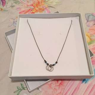 Magnolia Silver And Bead Necklace