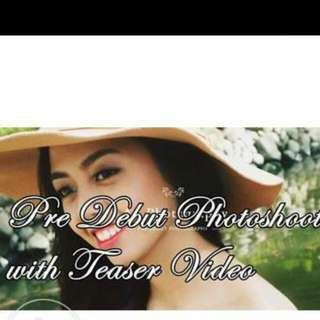 Event Photo Shoot / Save The Date Video Teaser Pre Debut