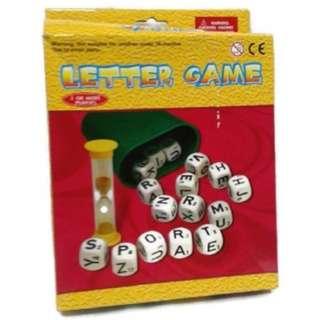 Letter Game Boggle Word