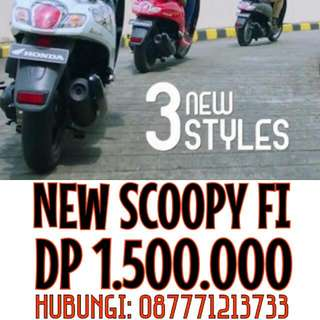 New SCOOPY ( PROMO APRIL )