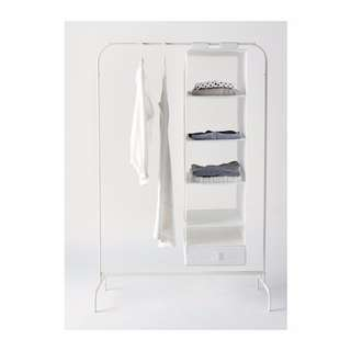 MULIG Clothes rack (white)