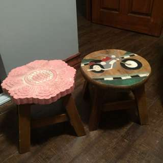 Cute Wooden Stools