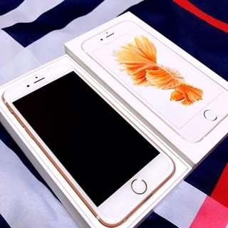 IPhone 6s 4.7 玫瑰金 16G