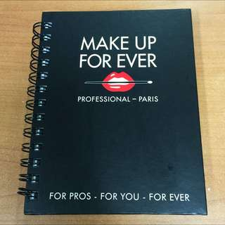 Notebook Make Up For Ever