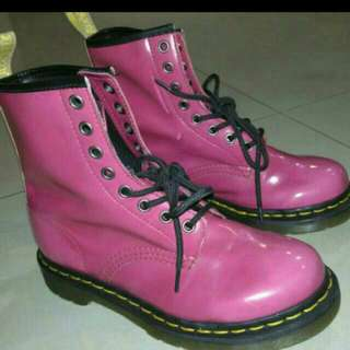 Dr.Martiens Pink Color