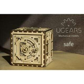 (Instock) Ugears Safe - Product of Ukraine