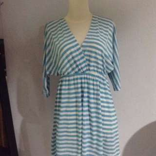 Gaudi Blue Stripes Dress