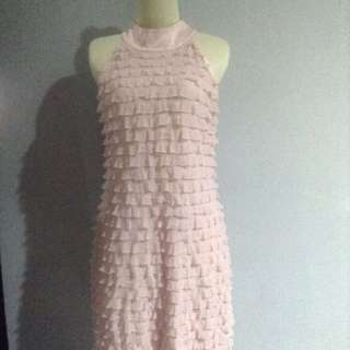 Esprit - Baby Pink Halter Dress