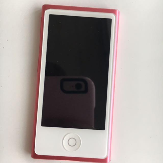16GB iPod Nano - Pink - 7th Generation