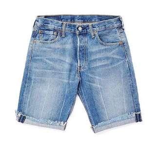 Levi's 501 牛仔短褲