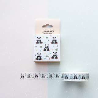 Limited Edition Washi Tape - Panda Washi Tape