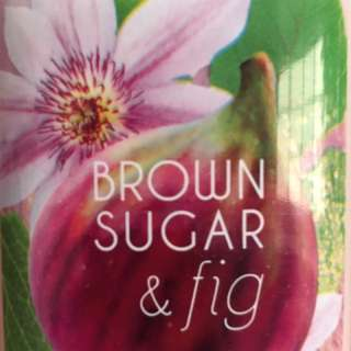 Brown Sugar And Fig