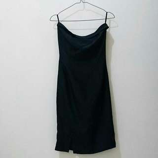 Tube Dress Hitam
