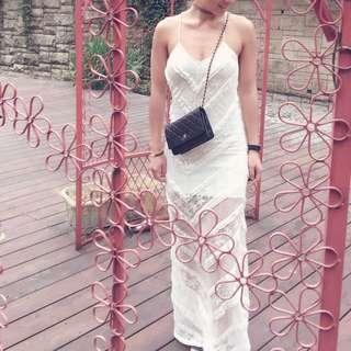 🚚 美國Minkpink蕾絲修身伴娘洋裝