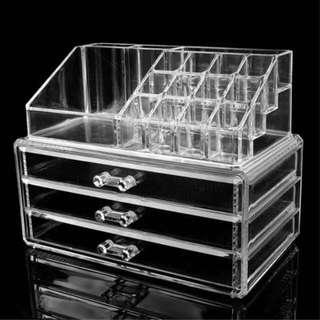 Acrylic Cosmetic/Jewelry Storage Organizer
