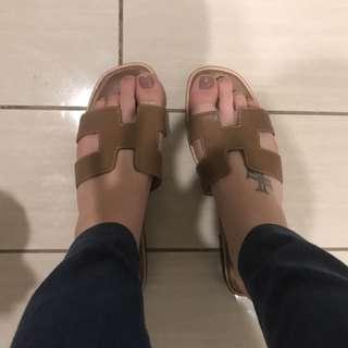 Hermes Oran Sandals/slides