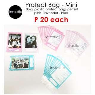 Protect Bag For Instax Mini Prints - 10pcs