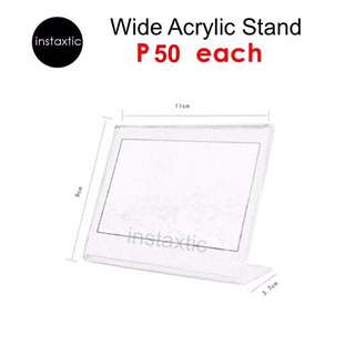 Acrylic Stand For Instax Wide Print