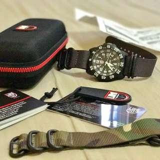 Luminox 3050 White Watch (Rush Deal $150)