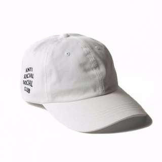 ASSC Weird Cap - White