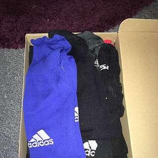 Various Football Socks