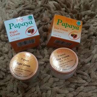 Papaya Day & Night cream