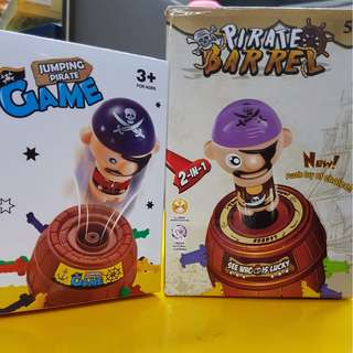 Jumping Pirate Game