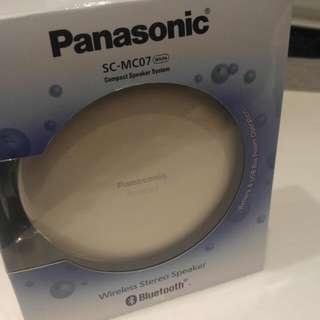 Panasonic藍芽喇叭