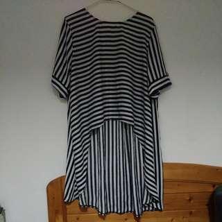 黑白條紋造型衣